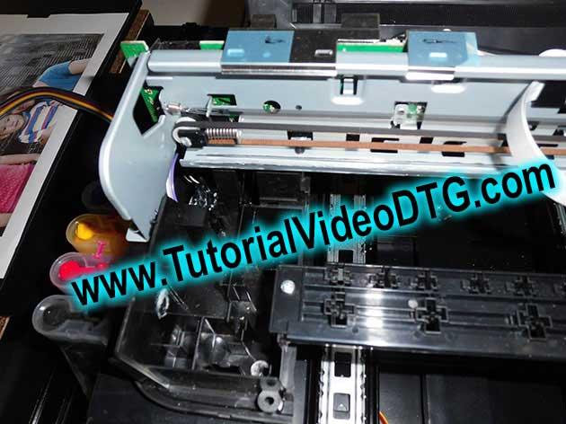 printer dtg A4 modifikasi