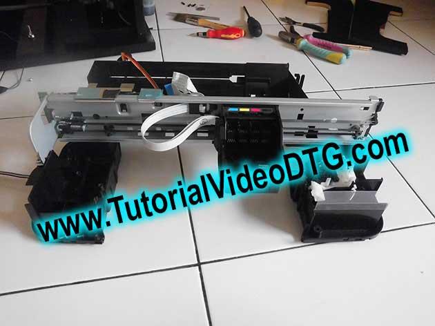 tutorial printer dtg cara membuat printer dtg sendiri