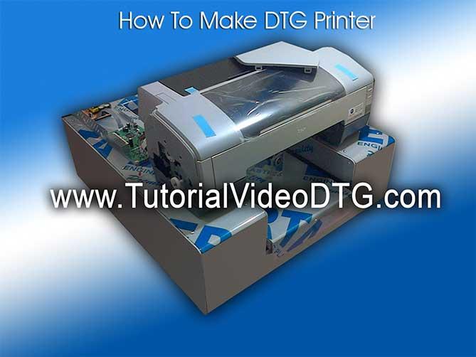 dtg dvd how to make dtg printer