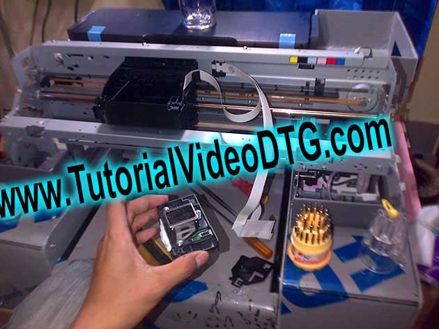 cara membuat printer dtg cara merakit printer dtg