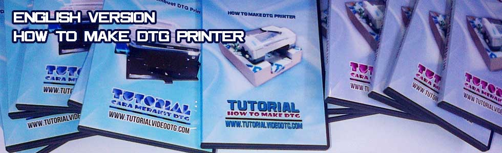 how to make dtg printer