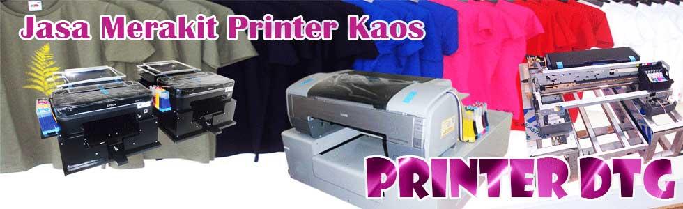 Jasa merakit printer dtg