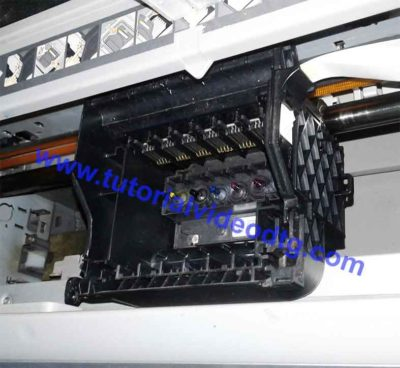 carriage unit printer dtg