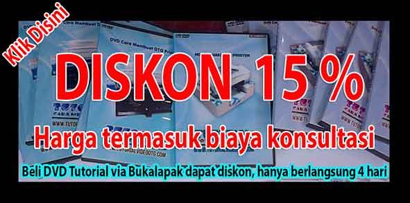 diskon dvd tutorial printer dtg