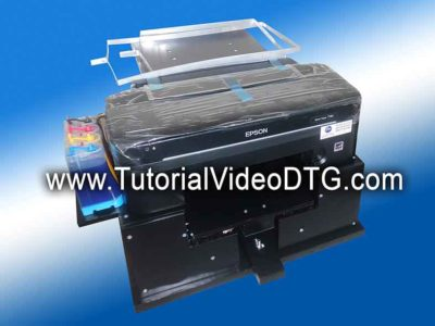 Tutorial Printer DTG cara membuat printer DTG