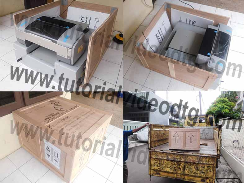 pengiriman paket mesin printer dtg