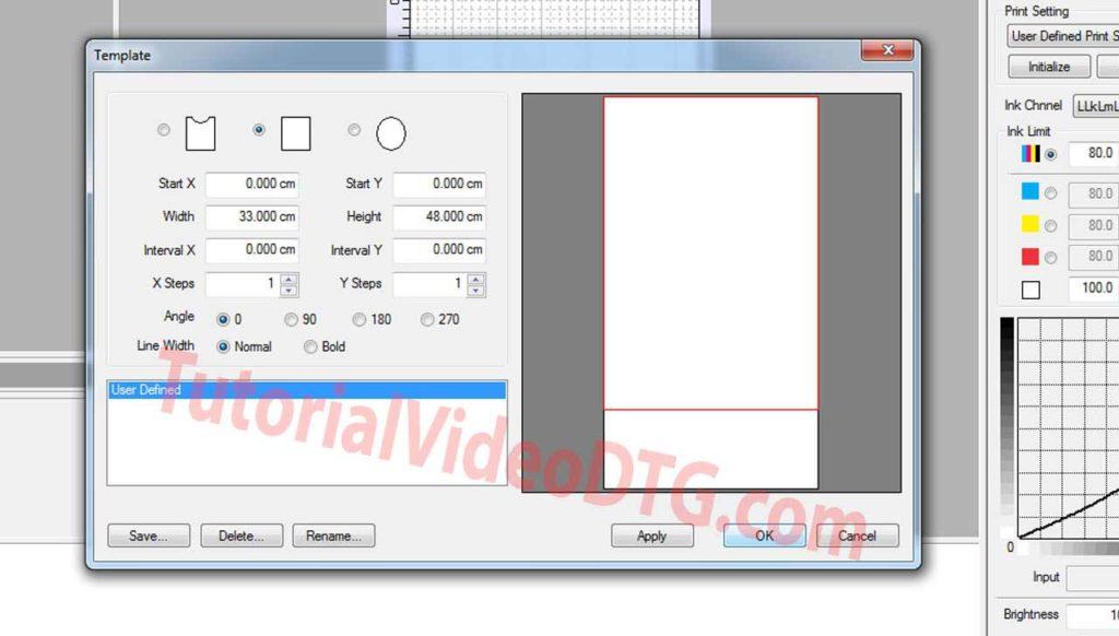 install software acrorip untuk print kaos