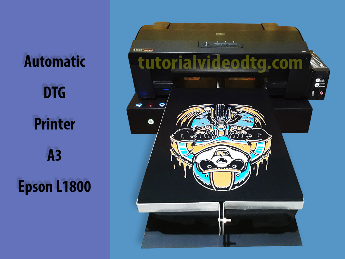 jual automatic dtg printer L1800