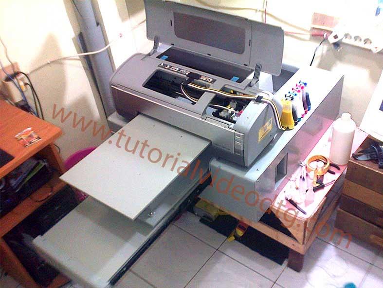 cara membuat printer dtg a3 1390