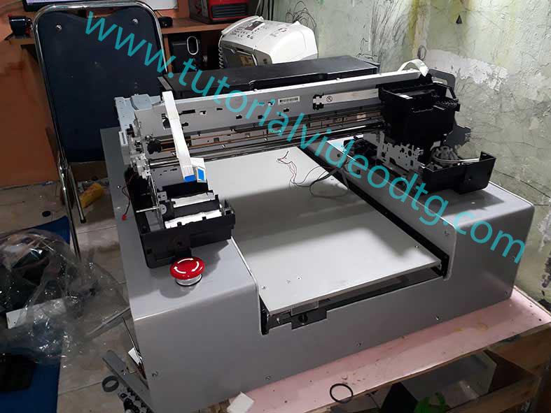 cara merakit printer dtg L1800