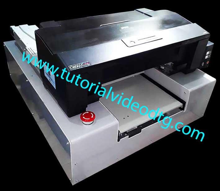cara modifikasi printer epson L1800 menjadi DTG
