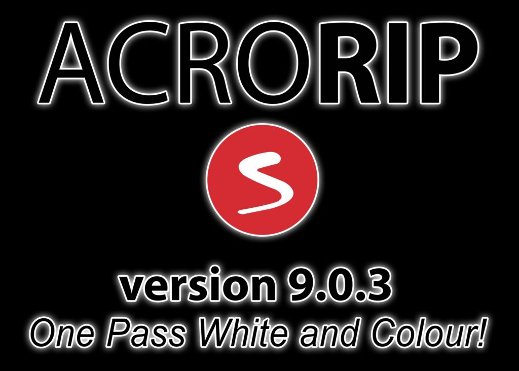 acrorip 903 one pass white and color