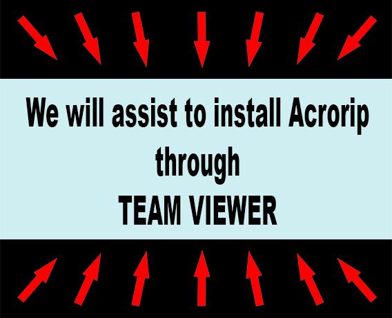 install acrorip 9